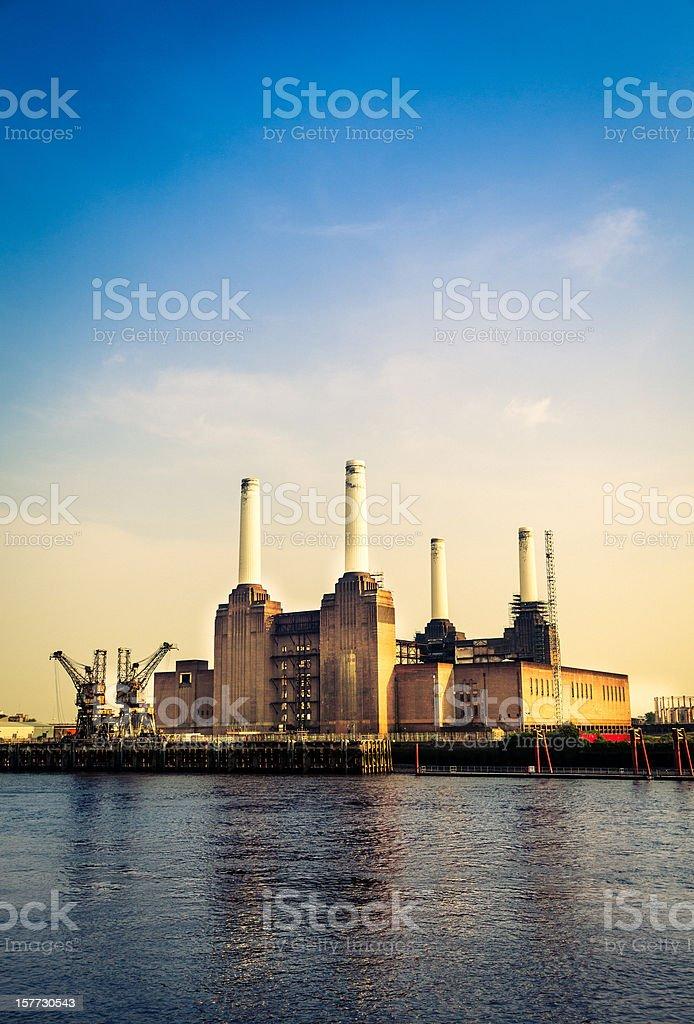 Battersea Power Station, London stock photo