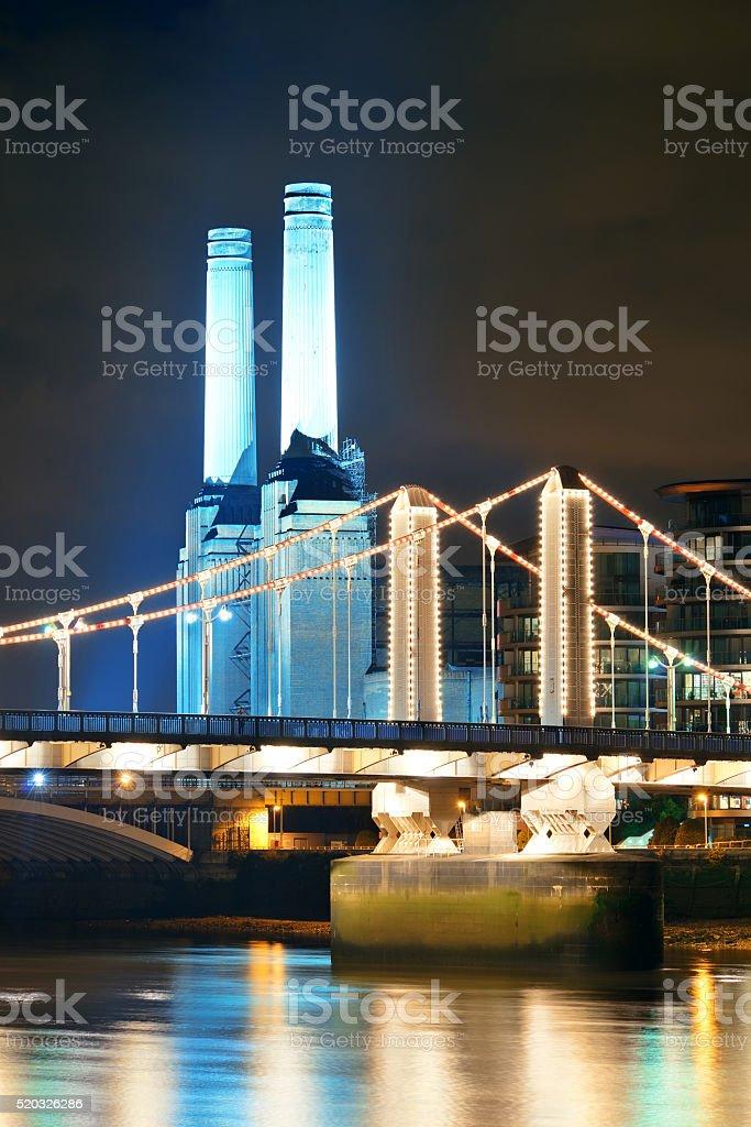 Battersea Power Station London stock photo