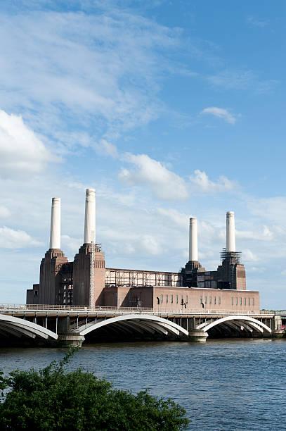 Battersea Power Station stock photo