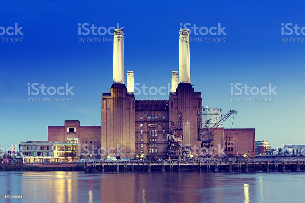 Battersea Power Station stock photo