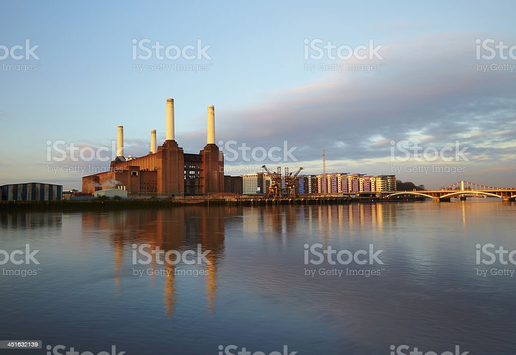 Battersea Power Station Stock Image stock photo