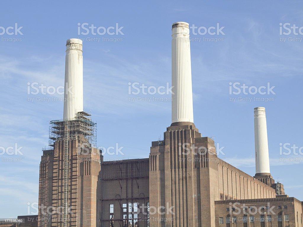 Battersea Powerstation London stock photo
