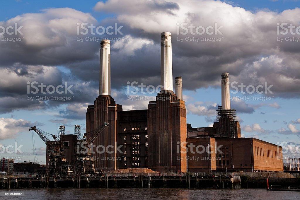 Battersea Powerstation stock photo