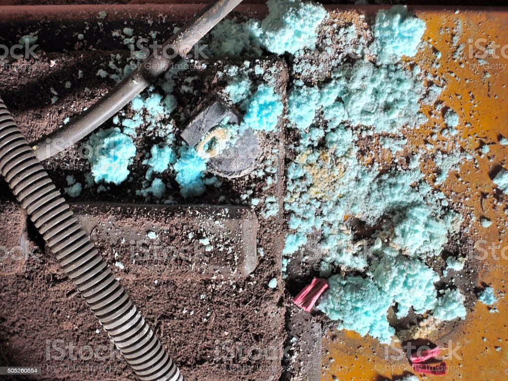 Battery Acid stock photo