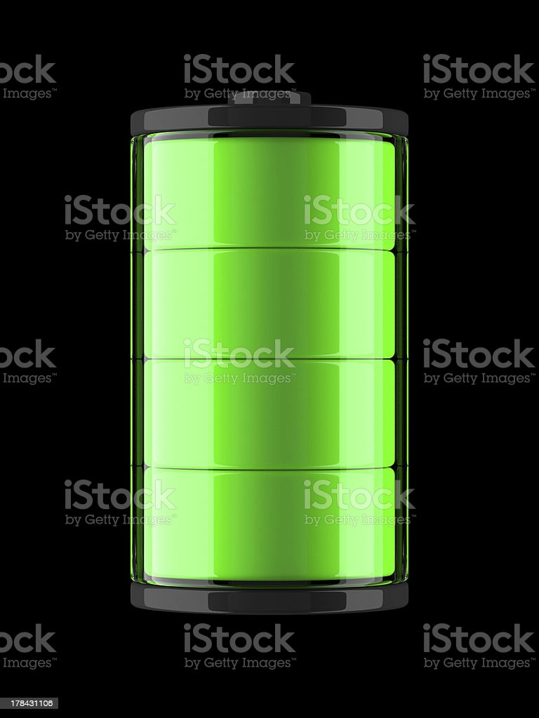 Battery Charge Icon royalty-free stock photo