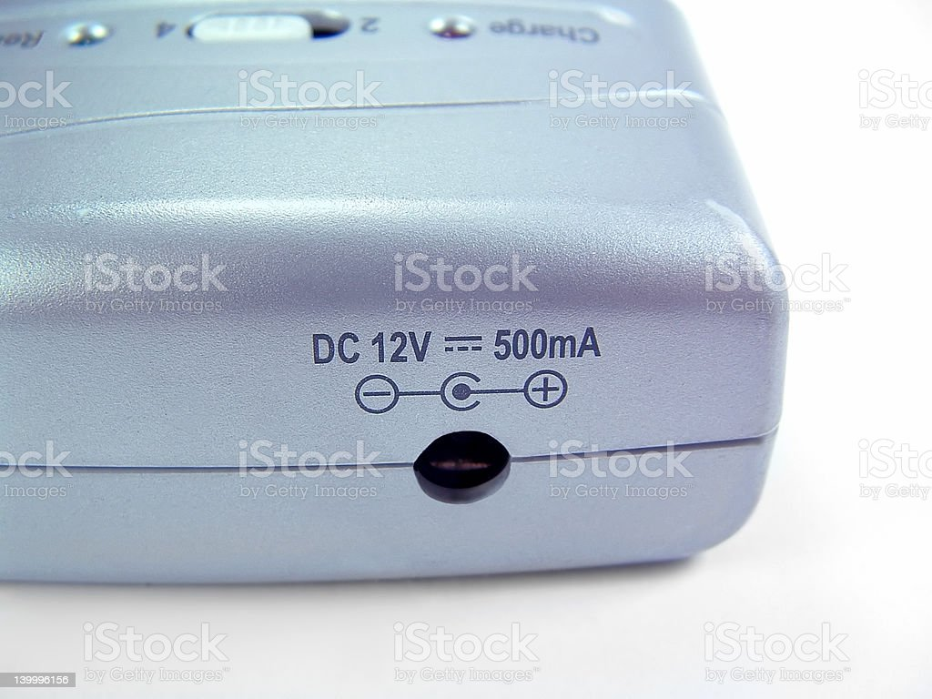 Battery Charger stock photo