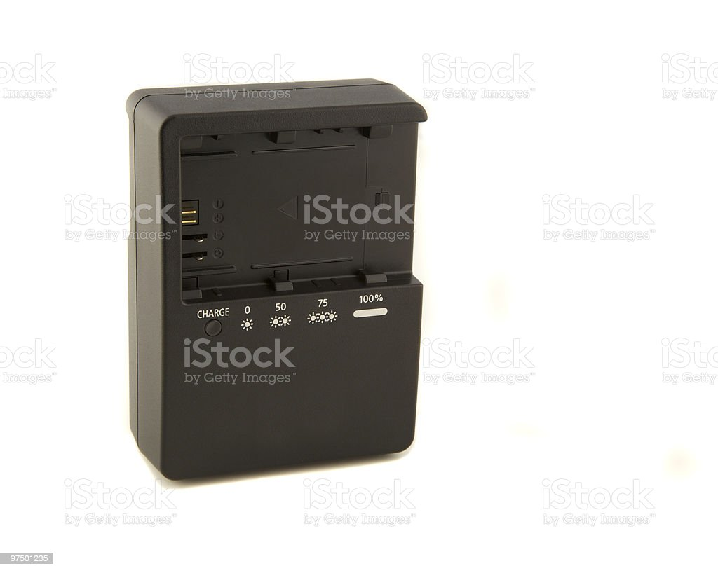 battery charger royalty-free stock photo