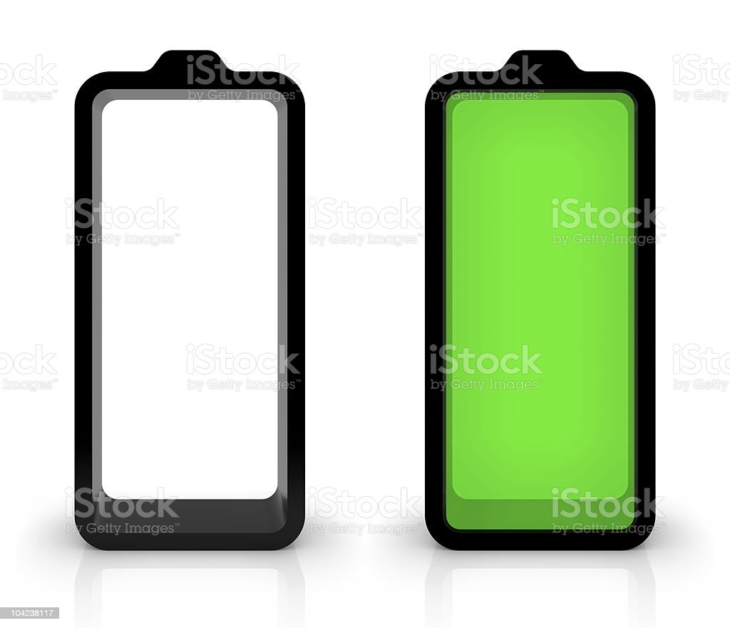 Battery Charging royalty-free stock photo
