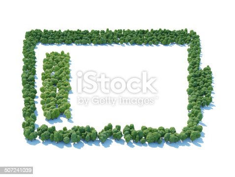 istock Battery forest 507241039
