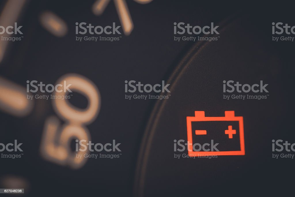 Battery icon detail​​​ foto