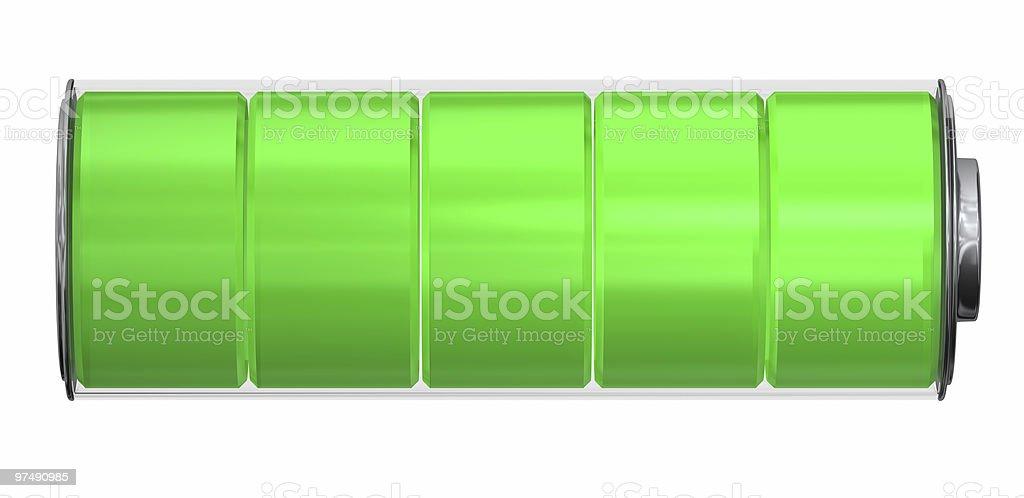 Battery Indicator royalty-free stock photo