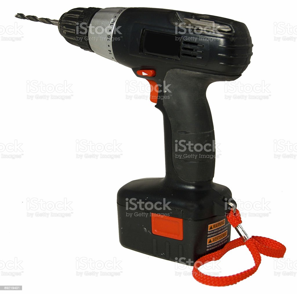 Battery Operated Drill royalty-free stock photo