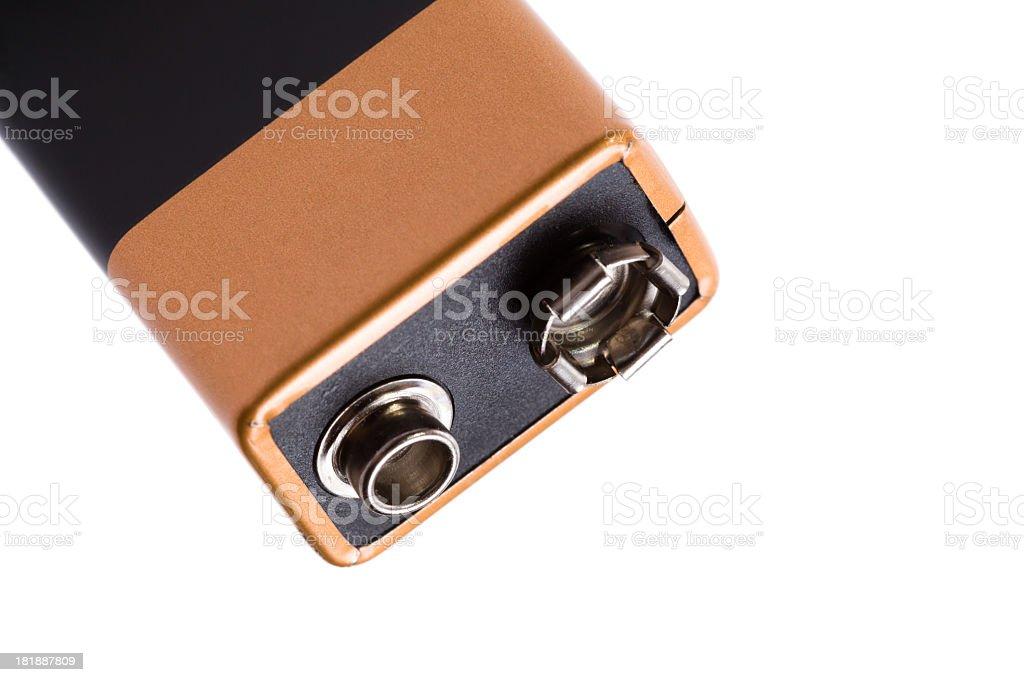 9V battery royalty-free stock photo