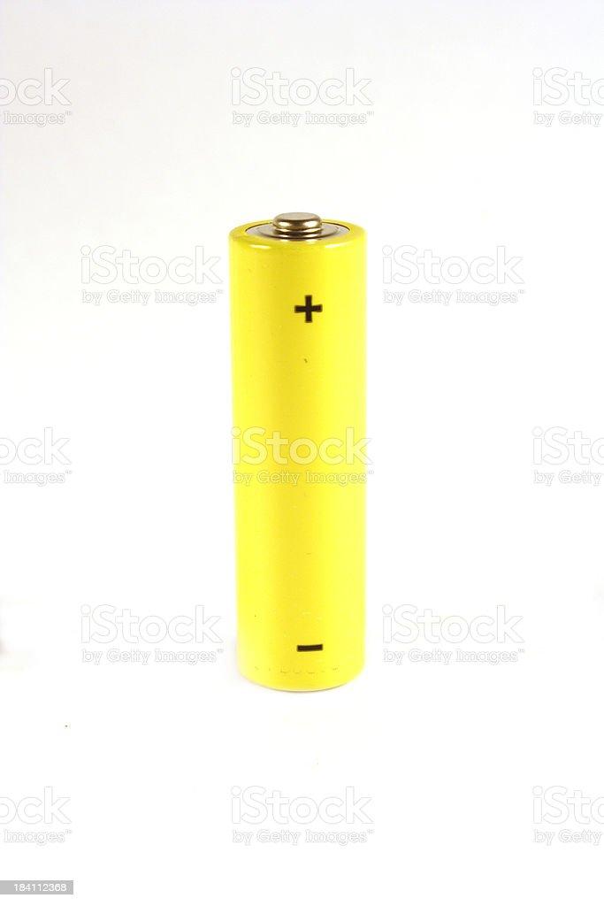 AA battery stock photo