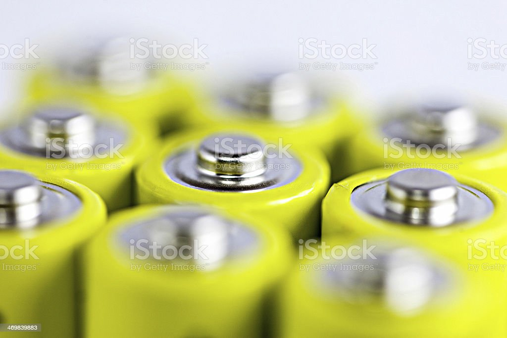 Battery (electricity) stock photo
