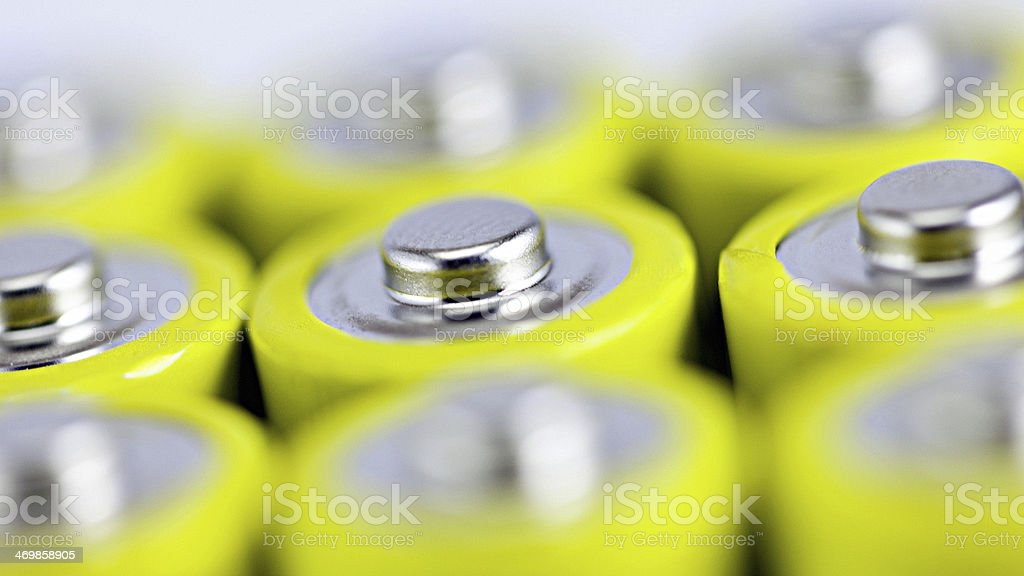 Battery (electricity) stock photo