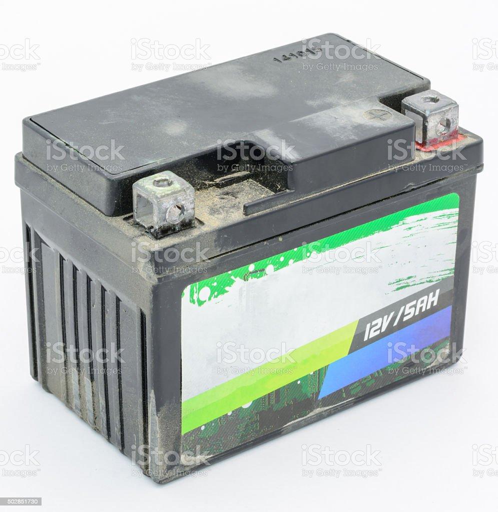 12V Battery stock photo