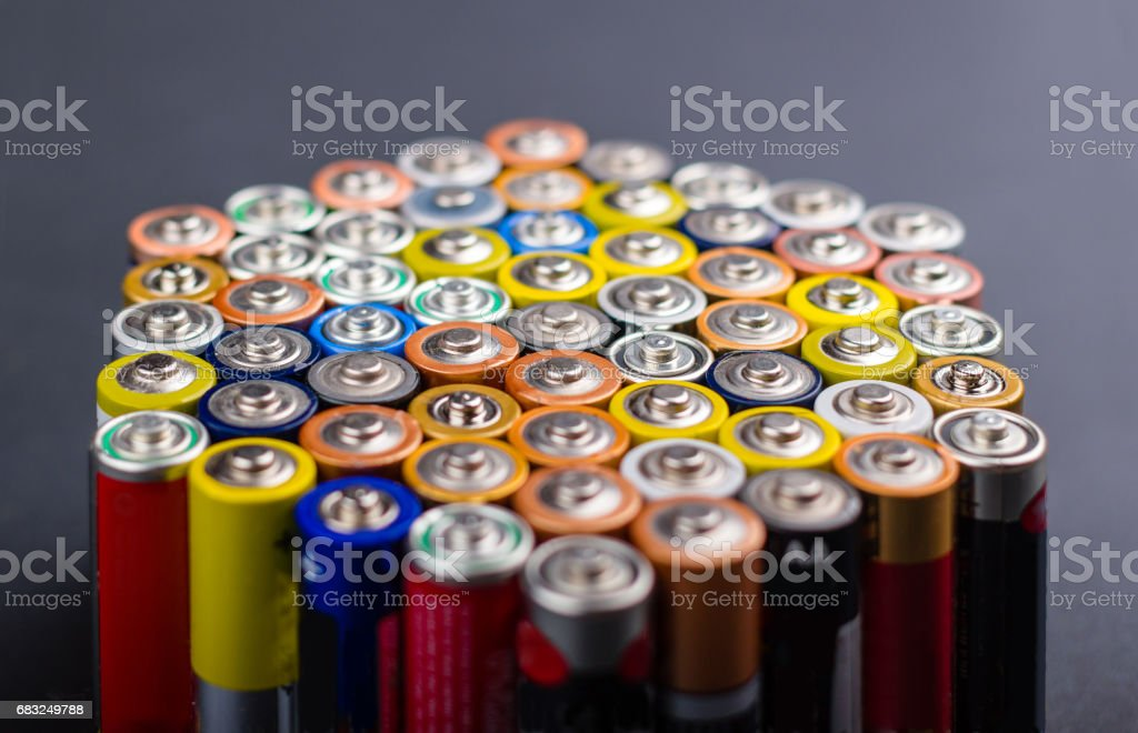 Battery Lizenzfreies stock-foto