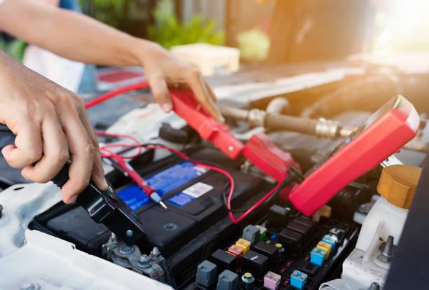 Batterie. – Foto