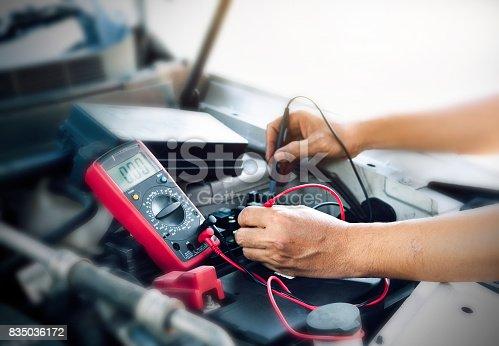 istock Battery. 835036172