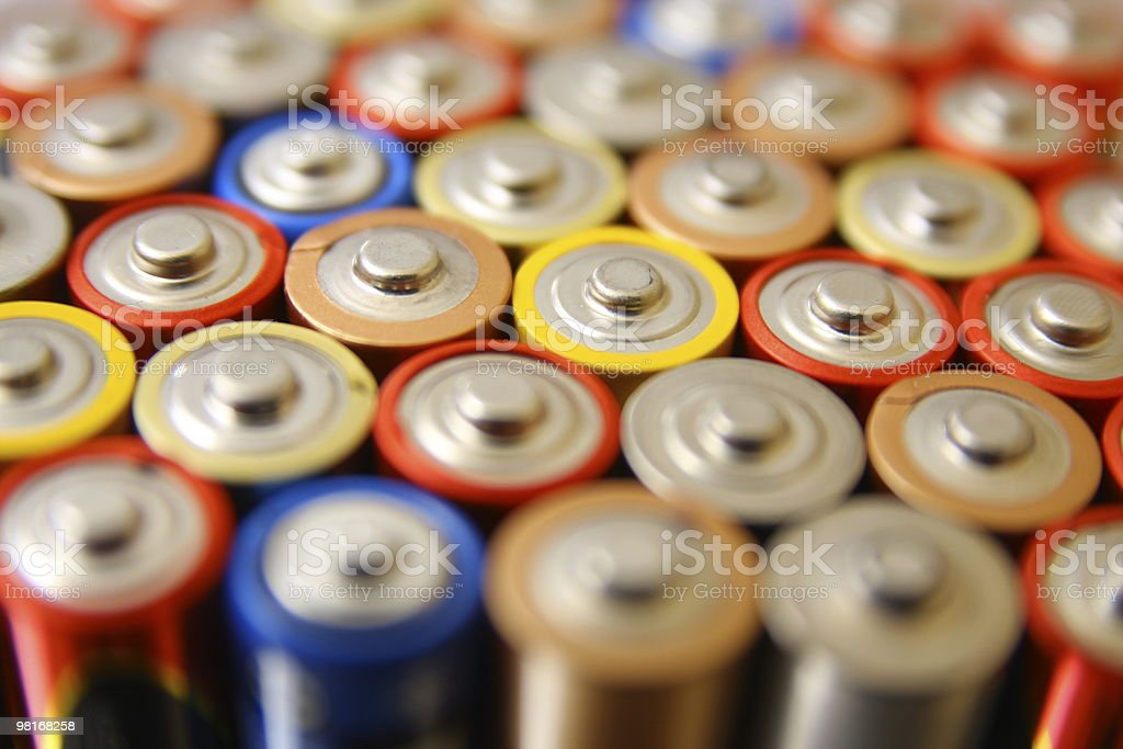 battery royalty-free stock photo