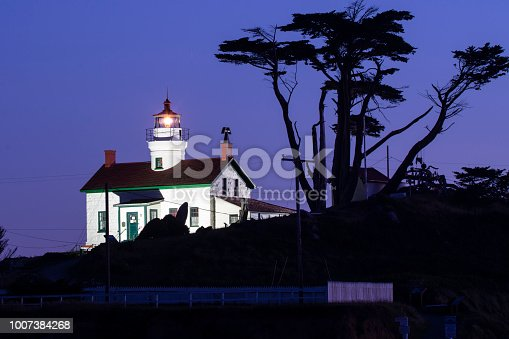 Battery Point Lighthouse is an iconic landmark in Crescent City, California.