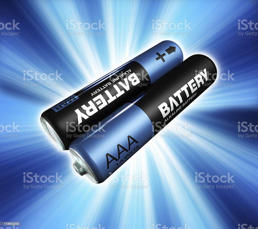 Battery power royalty-free stock photo