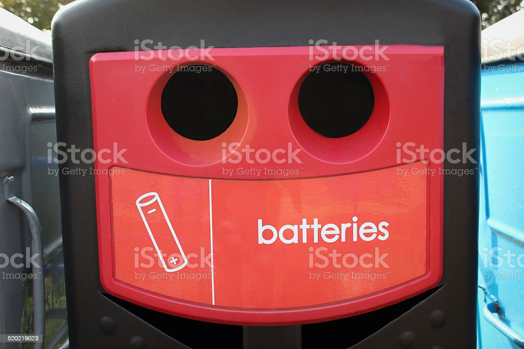 Battery Recycling Bin – Foto