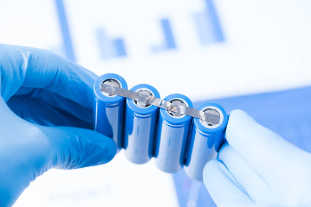battery research concept - graphene stock photos and pictures