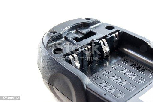 istock battery socket size aaa alkaline on isolate 670858478