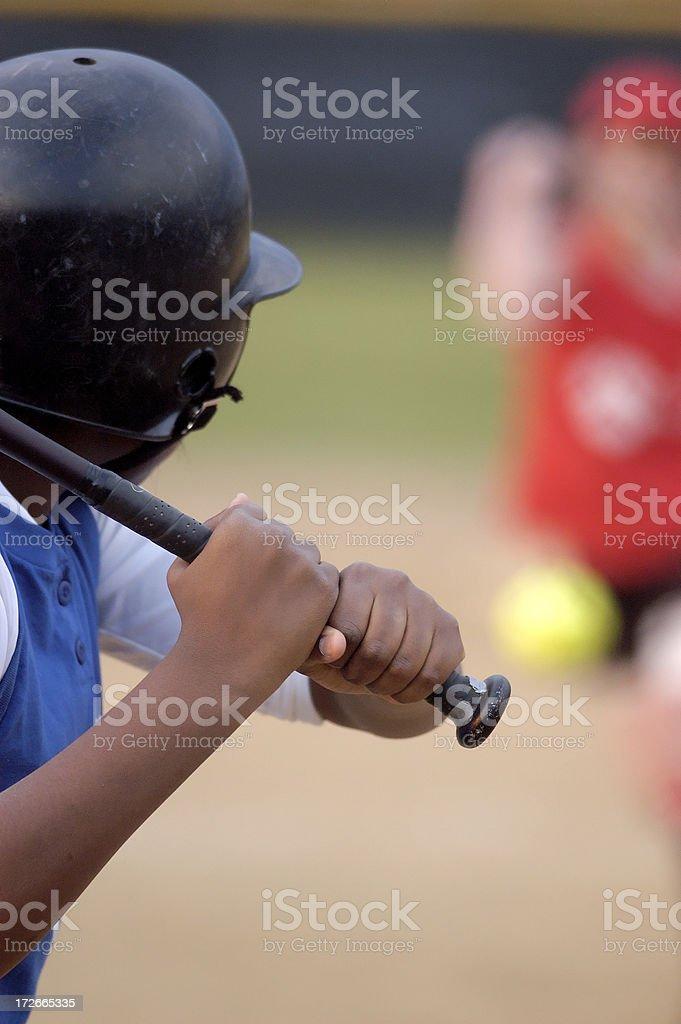 Batting closeup royalty-free stock photo