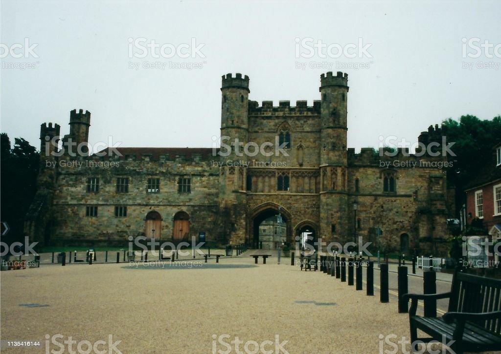 Battle Abbey, England stock photo