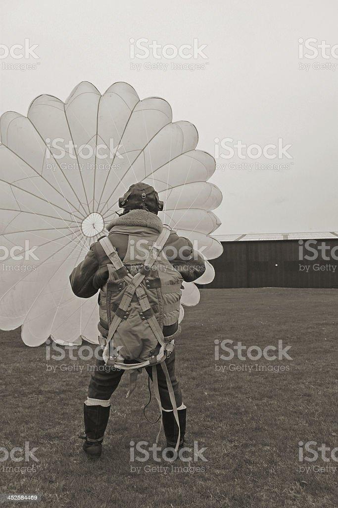 Battle of Britain Pilot royalty-free stock photo