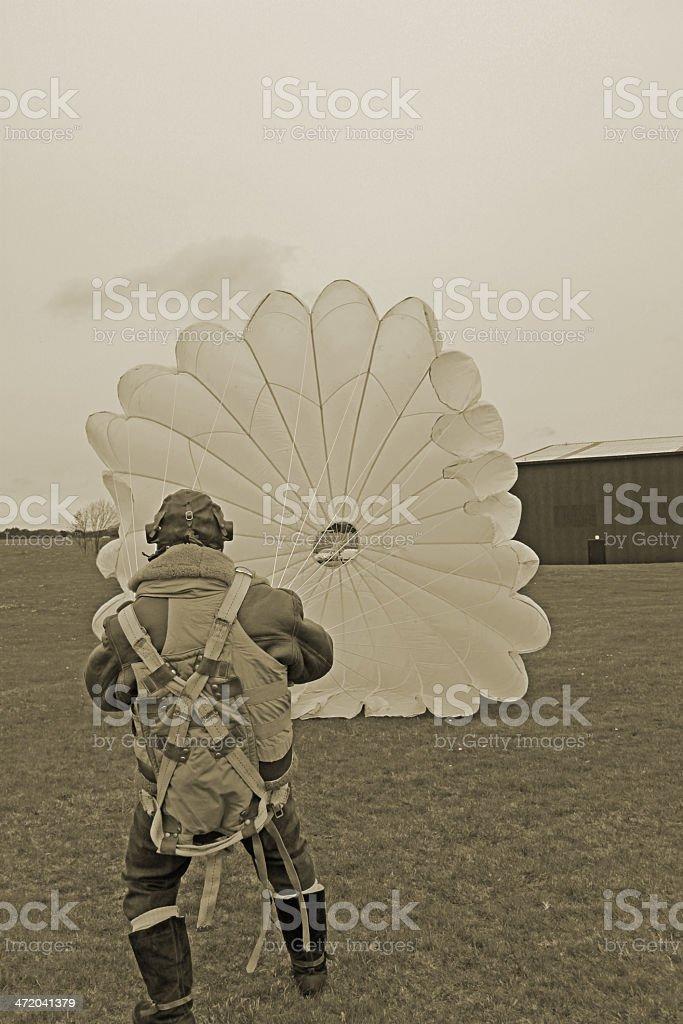Battle of Britain Pilot. stock photo