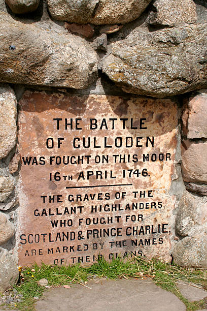Battle of Culloden stock photo