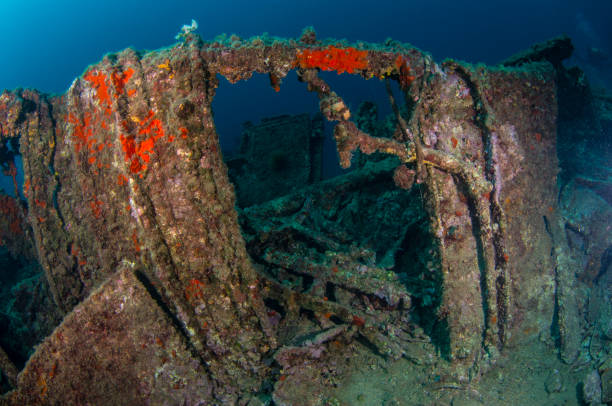 battle of dardanelles - wreck diving stock pictures, royalty-free photos & images