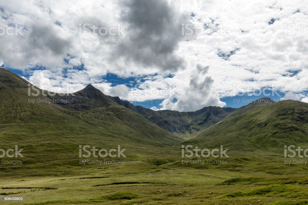 Battle of Glen Shiel stock photo