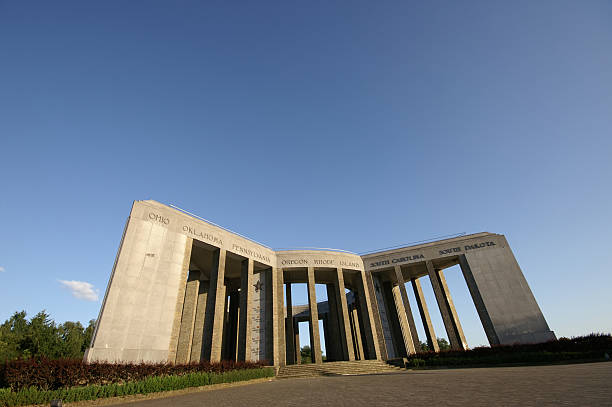 Bataille des Ardennes, mémorial du Mardasson - Photo