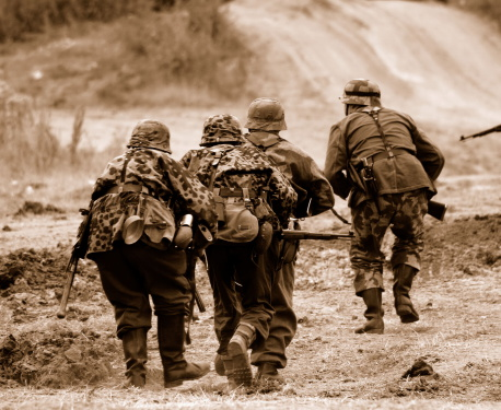 Ww2 Battlefield Stock Photo - Download Image Now