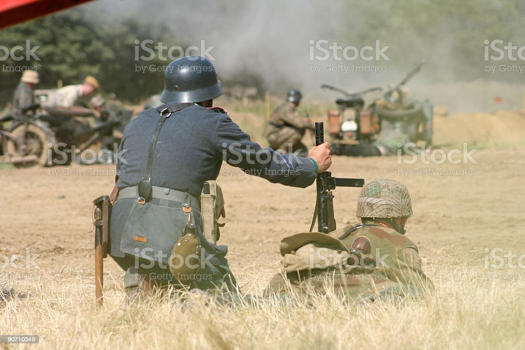 Battlefield royalty-free stock photo