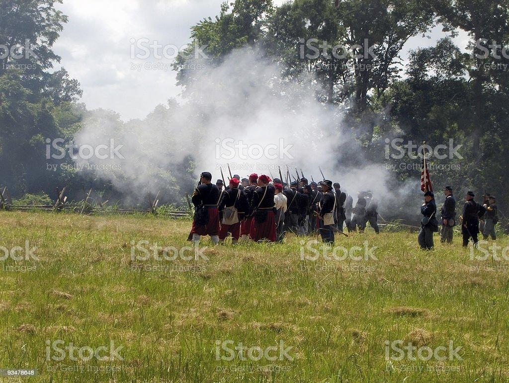 Battlefield royalty-free stock photo