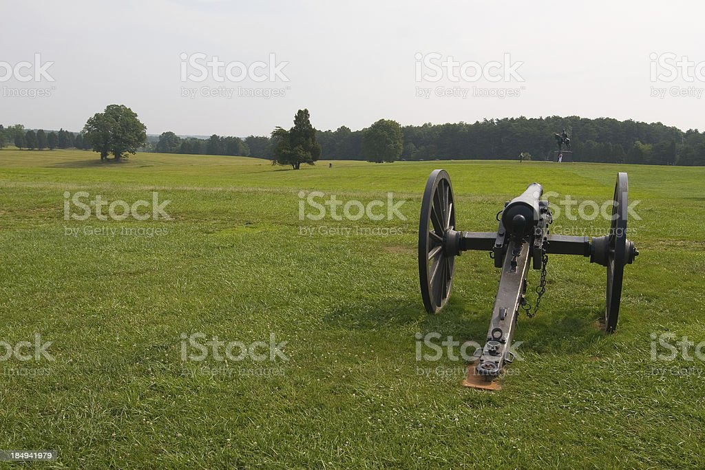 Battlefields of Manassas stock photo