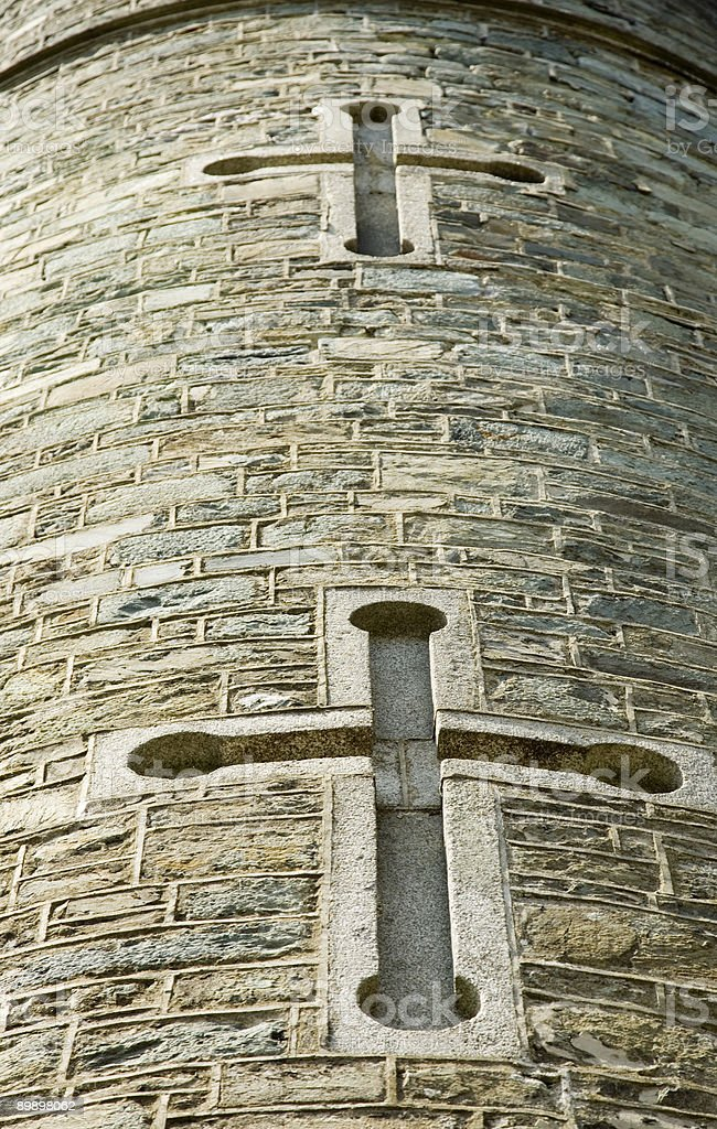Battlements royalty-free stock photo