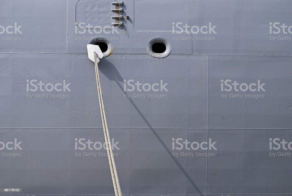 Battleship Gray royalty-free stock photo