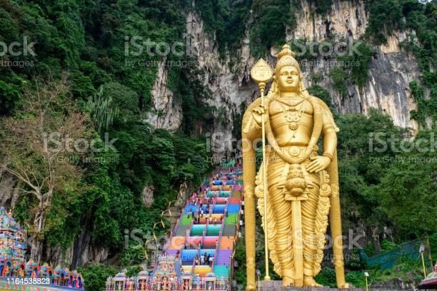 Batu Caves Lord Murugan In Kuala Lumpur Malaysia Stock Photo - Download Image Now