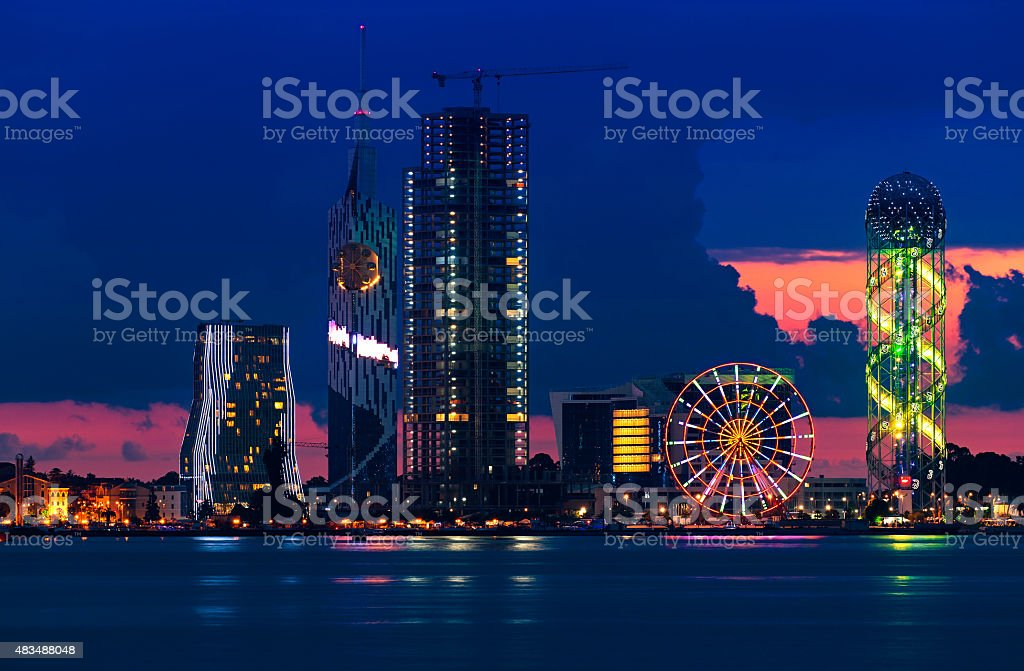 Batumi stock photo