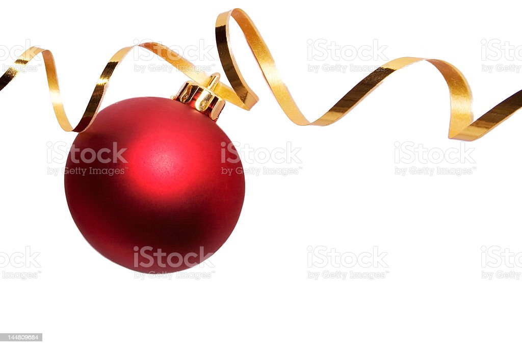 Baubles 5 royalty-free stock photo
