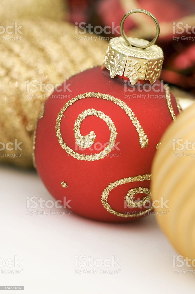 Baubles royalty-free stock photo