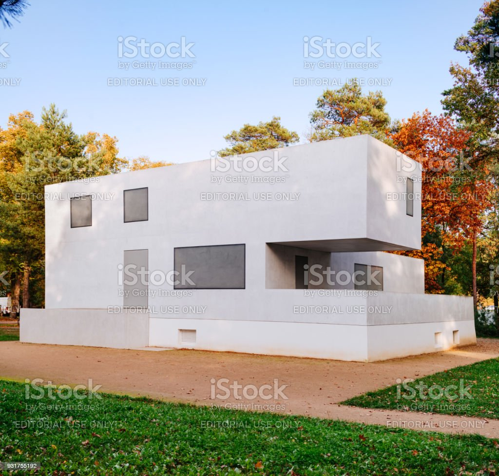 Bauhaus Dessau - maisons de maître «Walter Gropius-maison de maître» - Photo