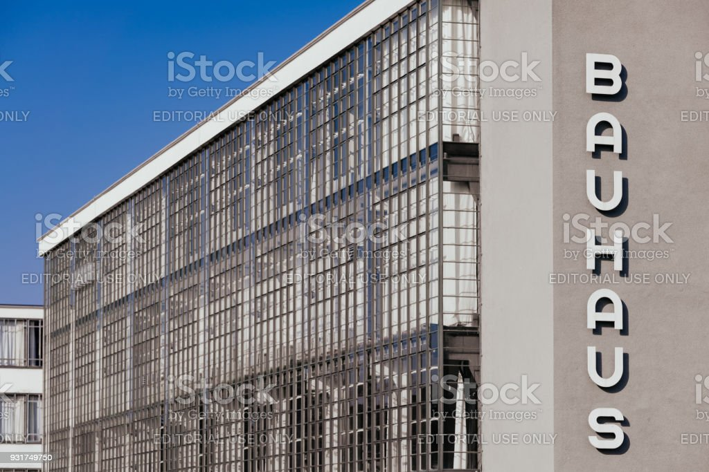 Bauhaus Dessau - vue latérale - Photo